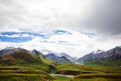 Bergen in Alaska Stock Foto's