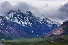 Bergen in Alaska Royalty-vrije Stock Foto's