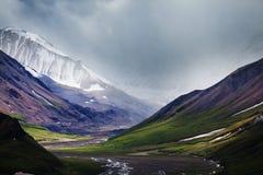 Bergen in Alaska Royalty-vrije Stock Fotografie