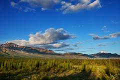 Bergen in Alaska Stock Fotografie