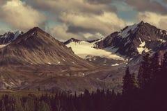 Bergen in Alaska Stock Foto