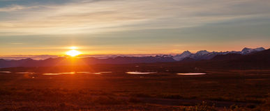 Bergen in Alaska Stock Afbeeldingen