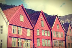 Bergen architecture Stock Photos