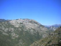 Bergen av Montenegro Arkivbild