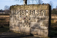 Bergen Belsen Royalty Free Stock Image