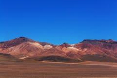 Bergen in Bolivië Royalty-vrije Stock Afbeelding