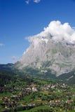 Bergen boven Grindelwald royalty-vrije stock foto's