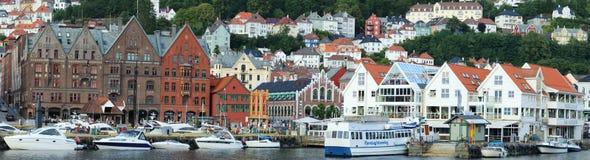 Bergen Bryggen Obraz Royalty Free