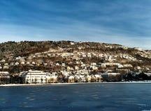 Bergen, bryggen Stockfoto