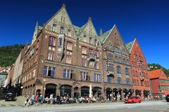 Bergen Bryggen Royalty Free Stock Image