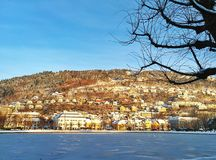 Bergen, bryggen Royalty Free Stock Images