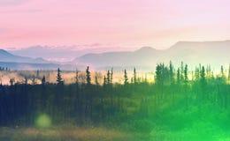 Bergen in Canada Stock Fotografie