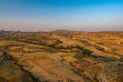 Bergen in Cappadocia stock afbeeldingen