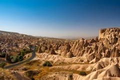 Bergen in Cappadocia royalty-vrije stock afbeelding