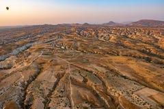 Bergen in Cappadocia royalty-vrije stock fotografie