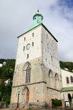 Bergen cathedral royalty free stock images