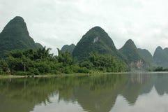 Bergen in China Stock Afbeeldingen