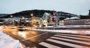 Bergen at Christmas Stock Photos
