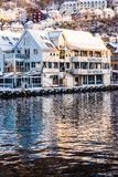 Bergen at Christmas Stock Photo