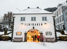 Bergen at Christmas Royalty Free Stock Photos