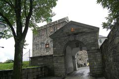 Bergen ściana Obraz Royalty Free