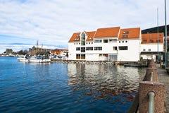 Bergen city. Popular travel destination in Bergen city in Norway Stock Photos
