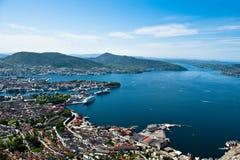 Bergen city Stock Images