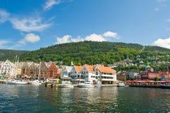 Bergen city Stock Image