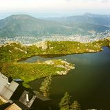 Bergen City fiods royalty free stock photo