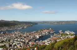 Bergen Royalty Free Stock Image