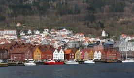 Bergen city. Bergen Norway view Royalty Free Stock Image
