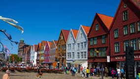 Bergen city Royalty Free Stock Photos