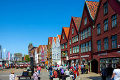 Bergen city Royalty Free Stock Photography