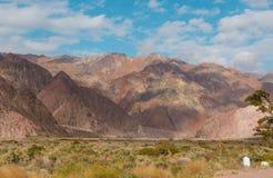 Bergen in de Andes Royalty-vrije Stock Fotografie