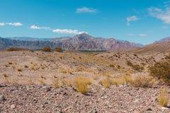 Bergen in de Andes Royalty-vrije Stock Foto