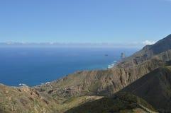 Bergen in de Canarische Eilanden van Tenerife Stock Afbeeldingen
