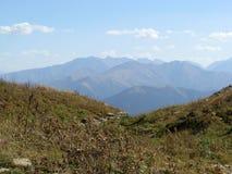 Bergen de Kaukasus stock foto
