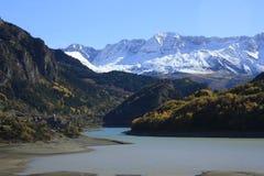 Bergen in de Pyreneeën Stock Afbeelding