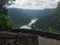 Bergen de West- van Virginia Royalty-vrije Stock Afbeeldingen