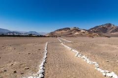 Bergen in de woestijn Stock Afbeelding