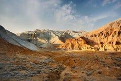 Bergen in de woestijn royalty-vrije stock foto