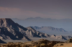 Bergen in de woestijn van dasht-E Lut Royalty-vrije Stock Fotografie