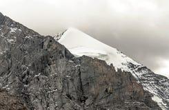 Bergen in de Zwitserse alpen Royalty-vrije Stock Fotografie