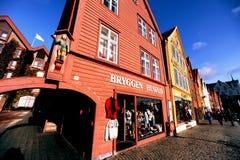 Bergen di legno Immagini Stock Libere da Diritti