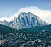 Bergen dichtbij door Zadar Royalty-vrije Stock Foto