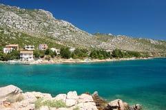 Bergen dichtbij Ribarica in Kroatië Royalty-vrije Stock Foto's
