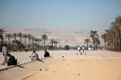 Bergen in Egypte Stock Fotografie