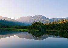 Bergen en Meer stock afbeeldingen