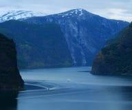 Bergen en overzees stock fotografie