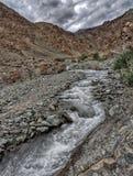 Bergen en Rivieren van Ladakh royalty-vrije stock foto